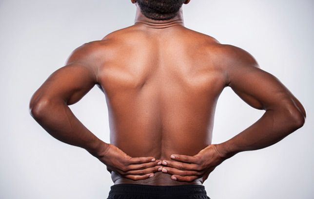 Persistent back pain