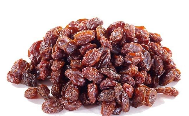 Raisins for fever
